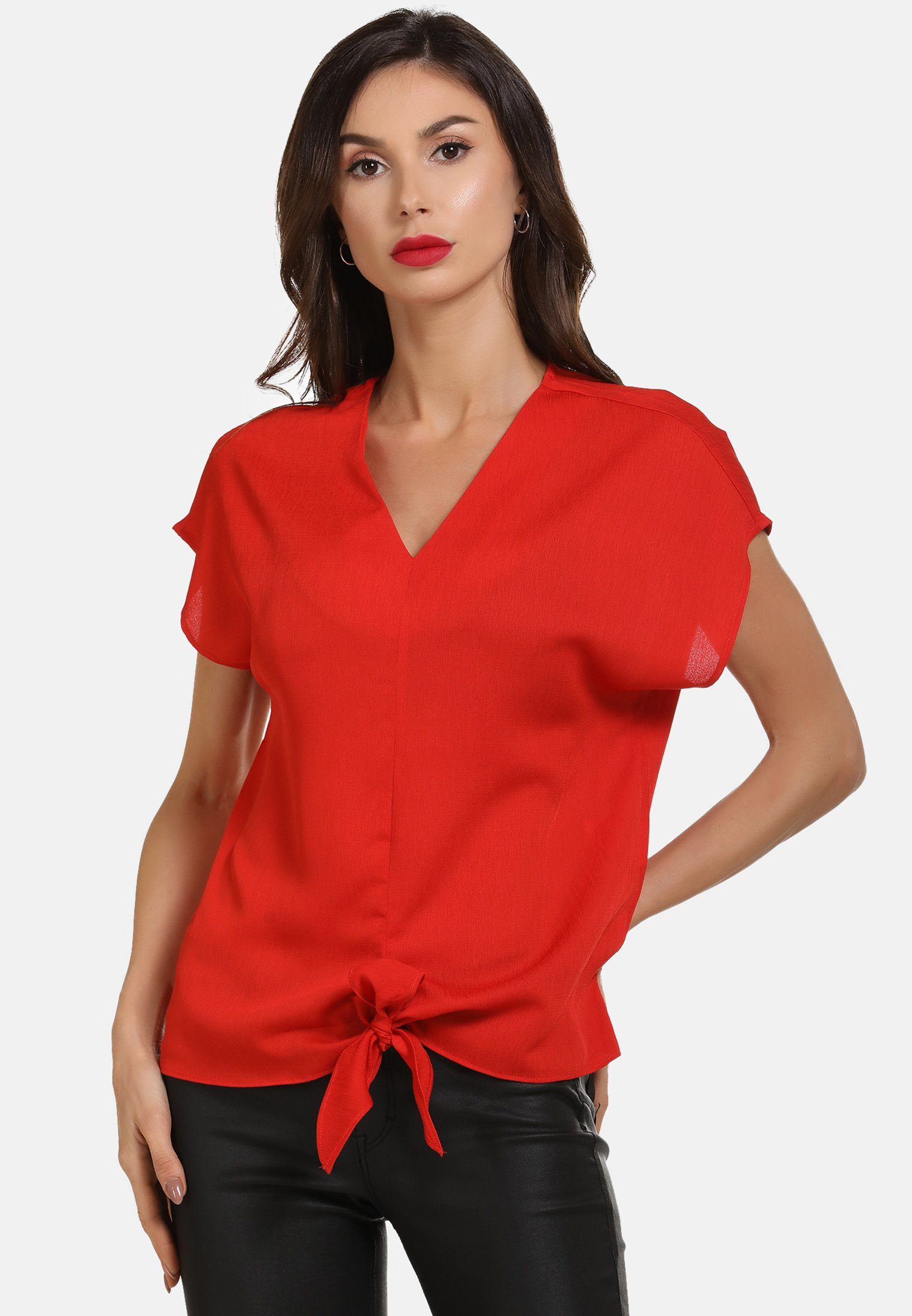 2020 New Women's Clothing faina BLUSE Blouse rot XYnJ1of7f