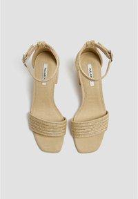 PULL&BEAR - High heeled sandals - light brown - 2