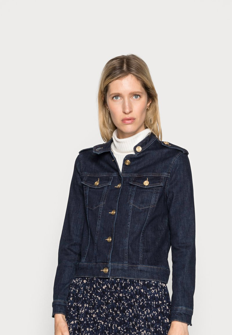 Mos Mosh - RAVEN  JACKET - Denim jacket - dark blue