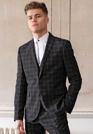 Suit jacket - mottled black
