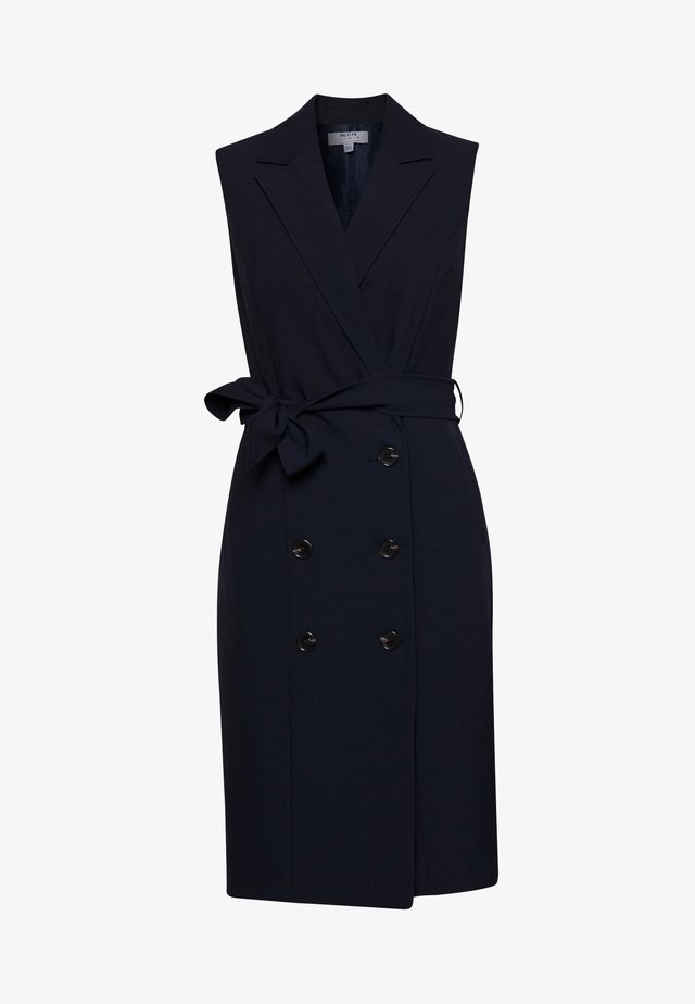 PETITES TRENCH DRESS - Day dress - navy