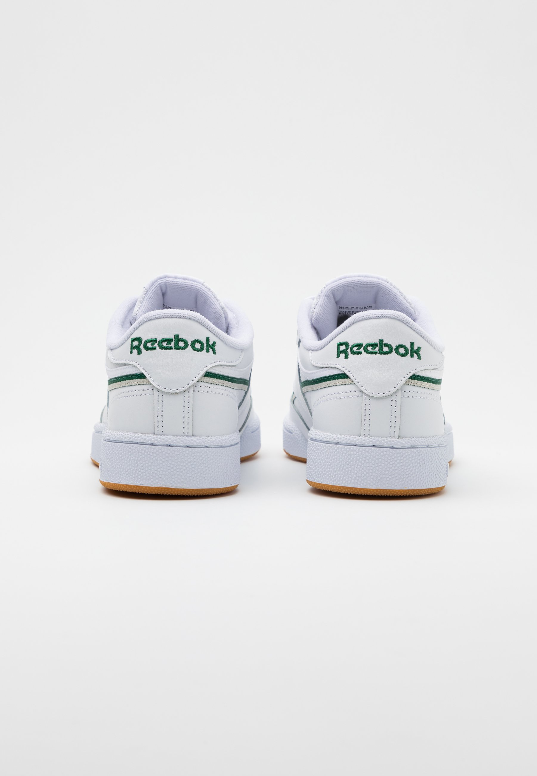 Reebok Classic CLUB C 85 Sneaker low white/dark green/chalk white/weiß
