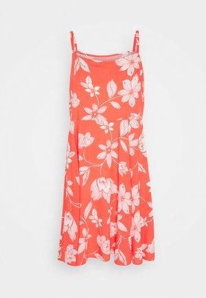 CAMI DRESS - Denní šaty - coral