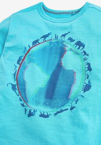 Next - PLANET EARTH T-SHIRT (3-16YRS) - Print T-shirt - blue - 2