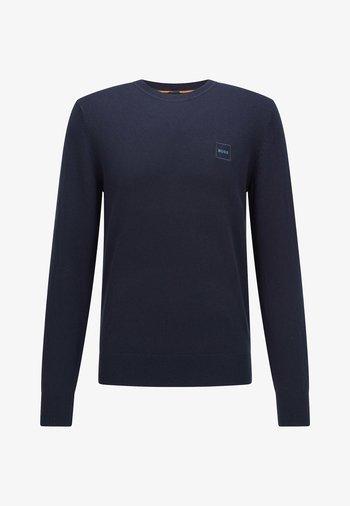 KANOVANT - Stickad tröja - dark blue