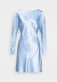 VICTORIA MINI DRESS - Day dress - periwinkle
