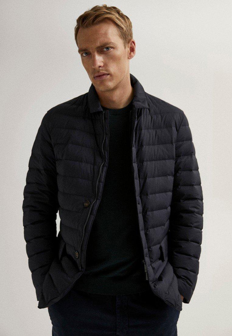 Massimo Dutti - Winter jacket - blue-black denim