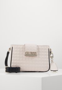 Guess - MATRIX ELITE CROSSBODY - Across body bag - stone multi - 0