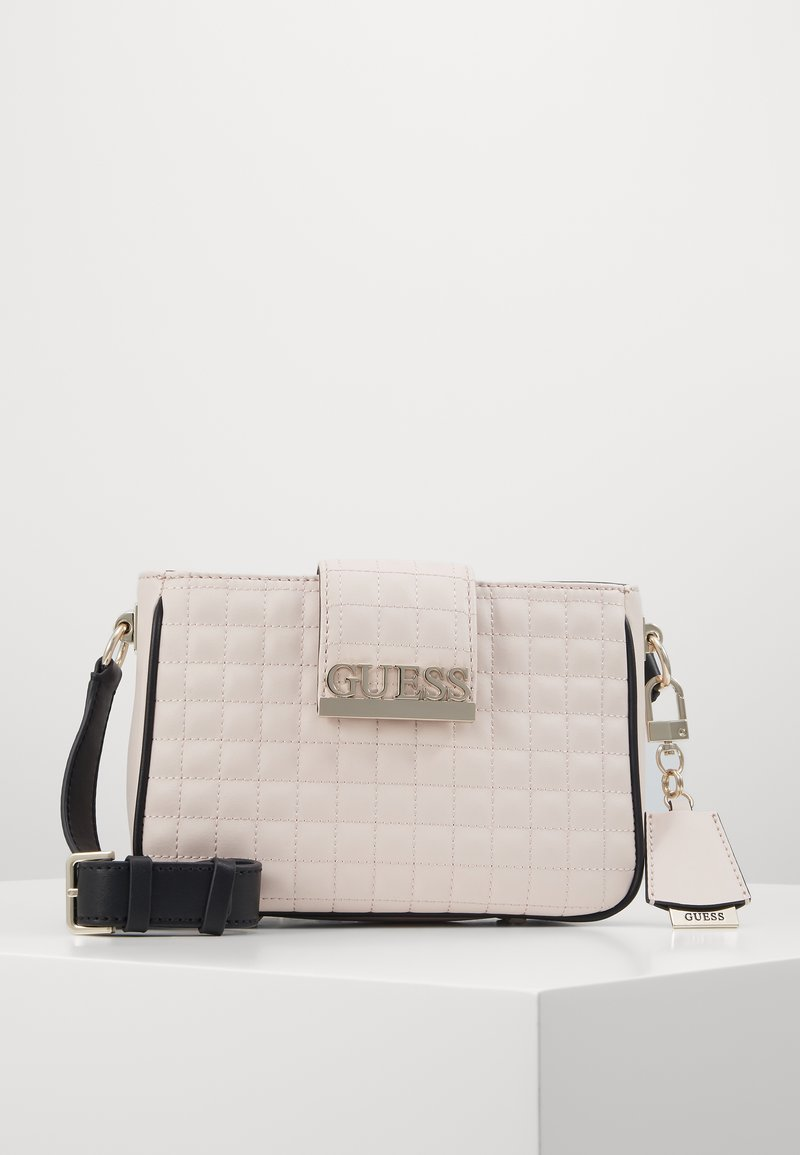 Guess - MATRIX ELITE CROSSBODY - Across body bag - stone multi