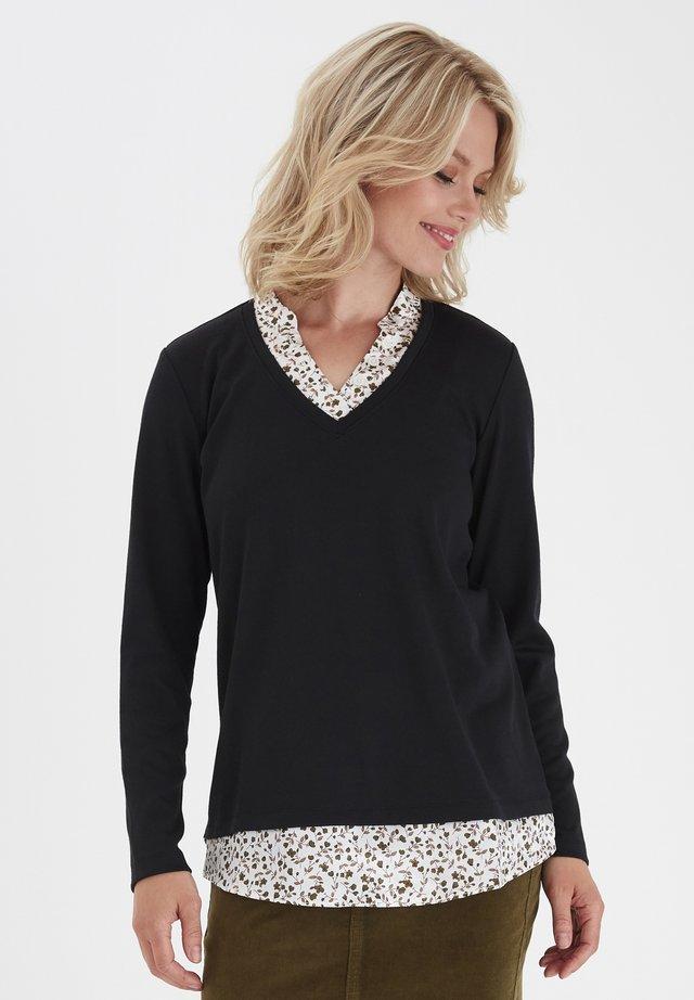 FRMEREXAN - Pullover - black