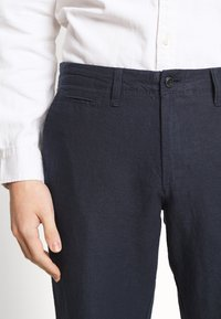 GAP - NEW SLIM PANTS - Kalhoty - tapestry navy - 4