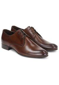 Kazar - CONCORD - Stringate eleganti - brown - 1