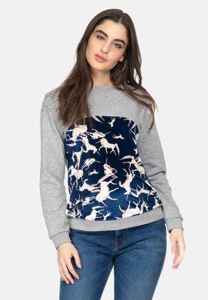 Sweatshirt - dark fairy unicorn