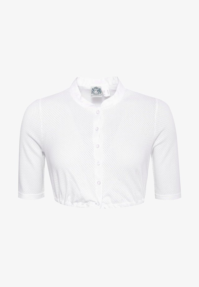 UTA  - Button-down blouse - weiß