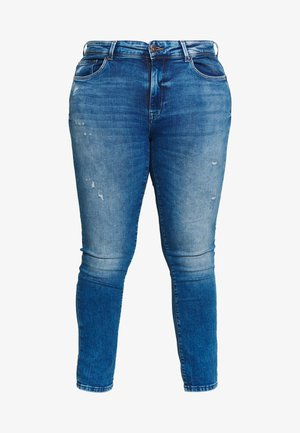 CARPISA DESTRO - Slim fit jeans - medium blue denim