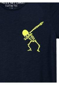 Key Largo - BT FASTER  - Print T-shirt - navy - 3