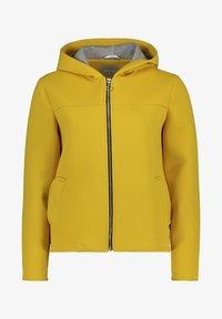 Amber & June - Sweater met rits - lemon curry - 3