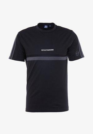 DUNCAN - Print T-shirt - black