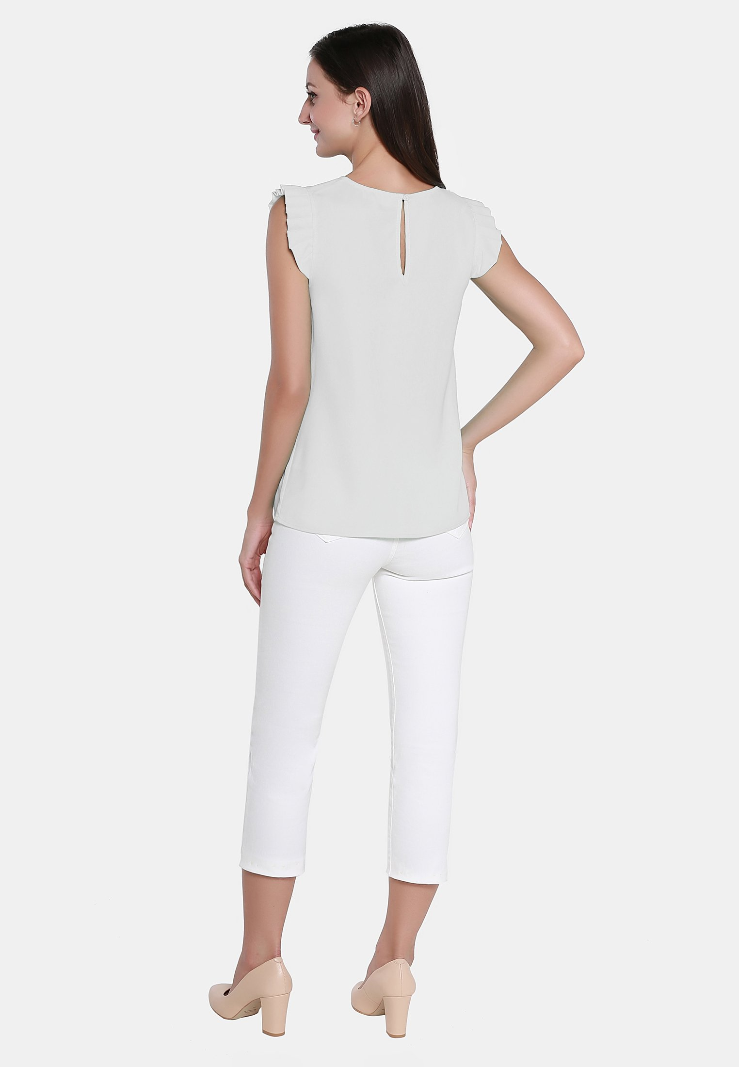 usha TOP - Débardeur - wollweiss - Tops & T-shirts Femme 6mf09