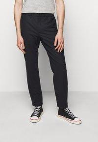 NN07 - FOSS  - Trousers - navy blue - 0