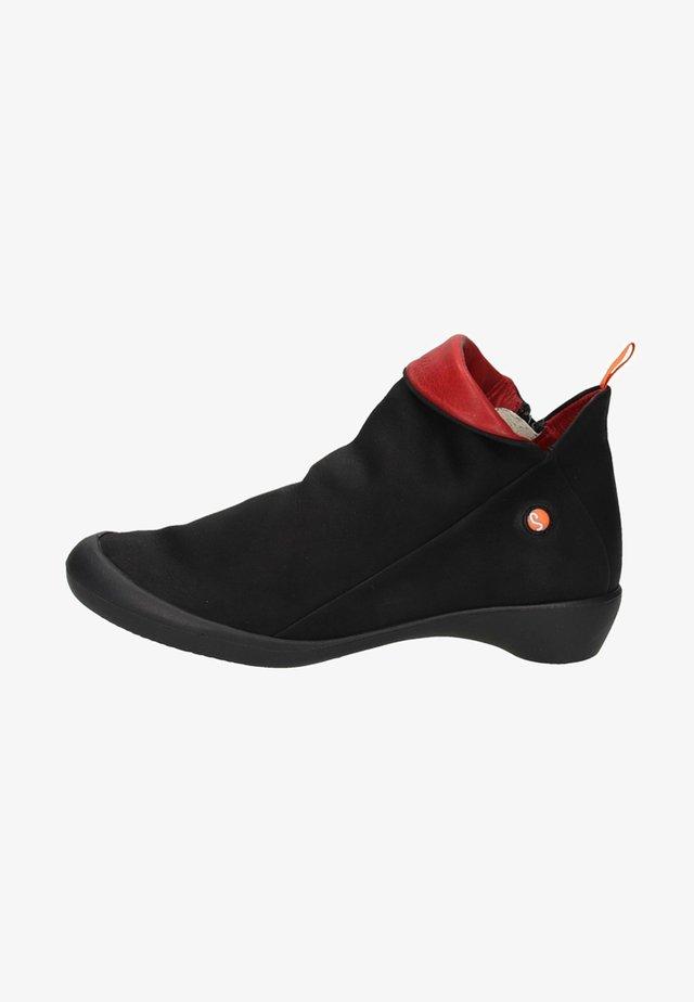 Korte laarzen - black/red