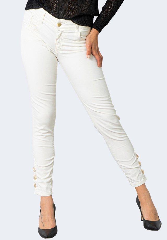 JEWEL S8XBATRATY - Pantaloni - cream