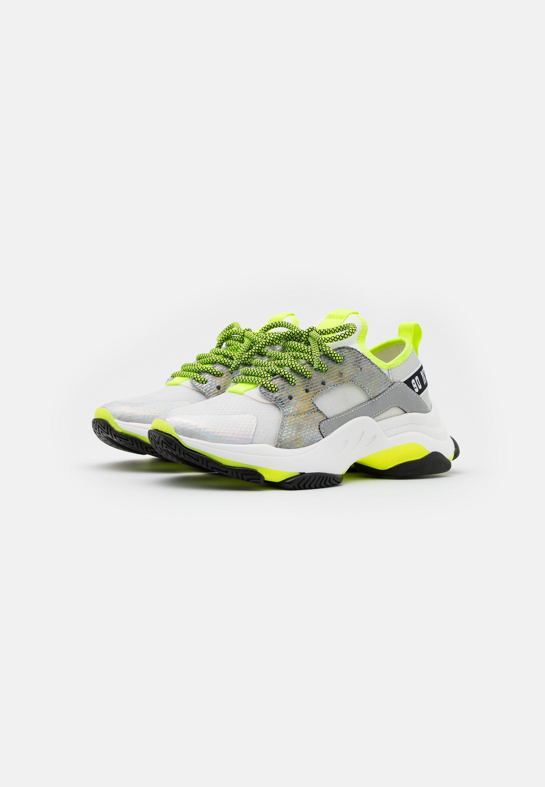 Steve Madden AJAX Sneaker low white/grey/grau