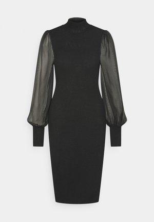 YASMELANIE DRESS - Robe fourreau - black