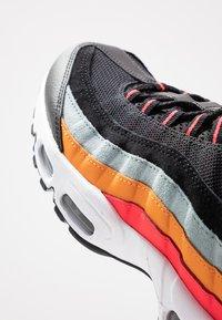 Nike Sportswear - AIR MAX - Trainers - black/white/ocean cube/kumquat/red orbit - 5