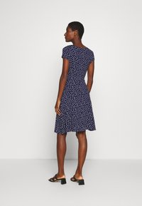 Anna Field - Jersey dress - maritime blue/white - 2