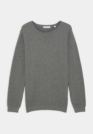 FENNEL  - Stickad tröja - grey melange