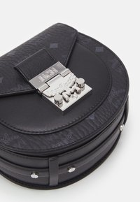 MCM - PATRICIA VISETOS SHOULDER MINI - Handbag - black - 5