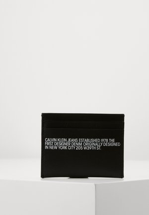 CARDCASE - Wallet - black
