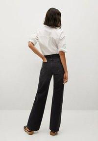 Mango - Flared Jeans - black denim - 2