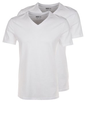 2 PACK - T-shirts basic - white