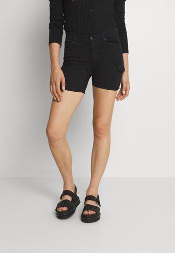 ONLMISSOURI LIFE - Szorty jeansowe - black