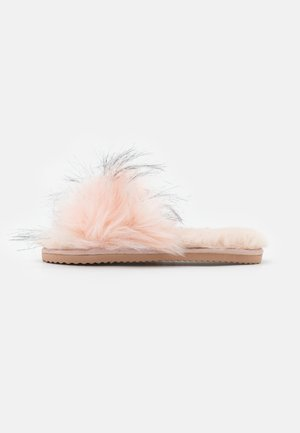 HAIRY POOL - Pantuflas - rose