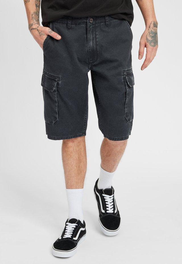 TEXAS CARGO - Shorts - black