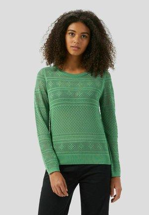 PERFORATED  - Maglione - verde giada