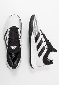 adidas Performance - DEFIANT GENERATION  - Zapatillas de tenis para todas las superficies - footwear white/core black - 1