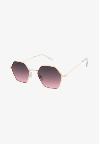 BEE - Sunglasses - pale gold / rose
