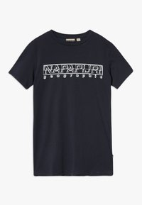 Napapijri - SOLI BRIGHT - T-shirt z nadrukiem - blu marine - 0