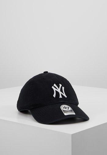 NEW YORK YANKEES CLEAN UP UNISEX - Lippalakki - black/white