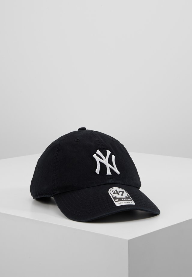 NEW YORK YANKEES CLEAN UP UNISEX - Kšiltovka - black/white