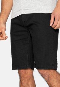 Threadbare - Denim shorts - black - 0