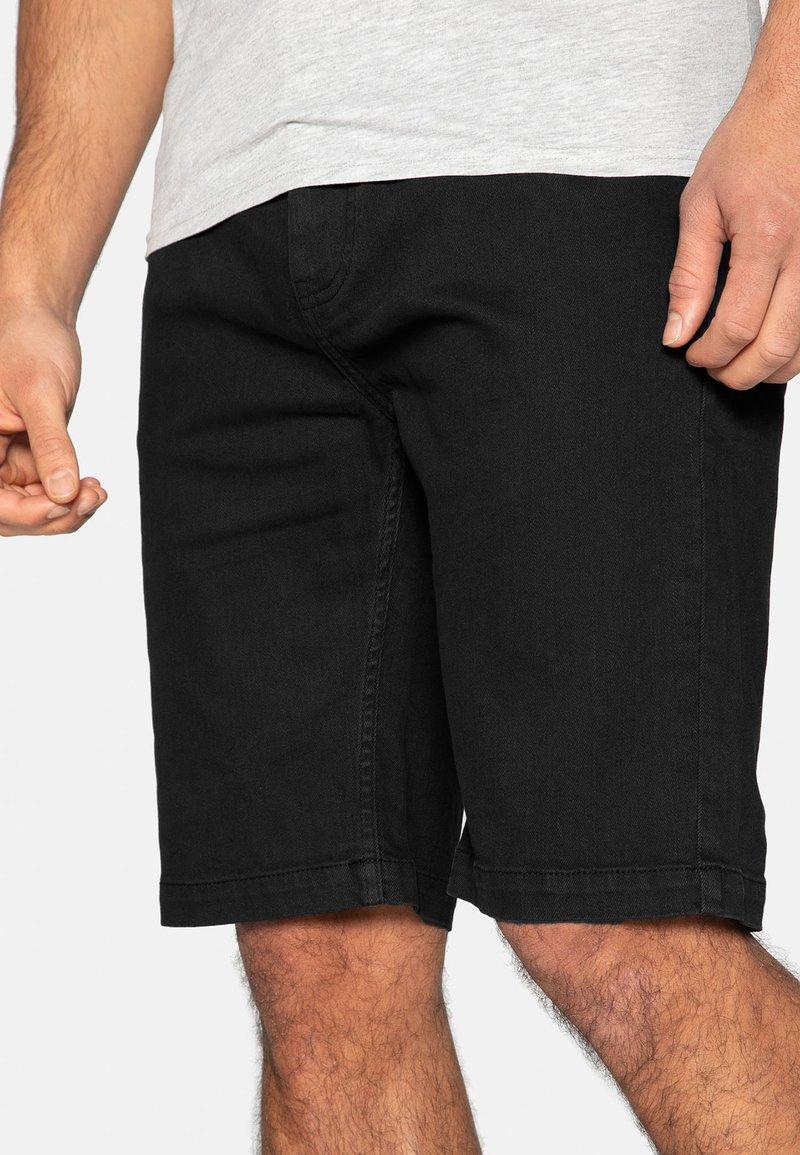 Threadbare - Denim shorts - black