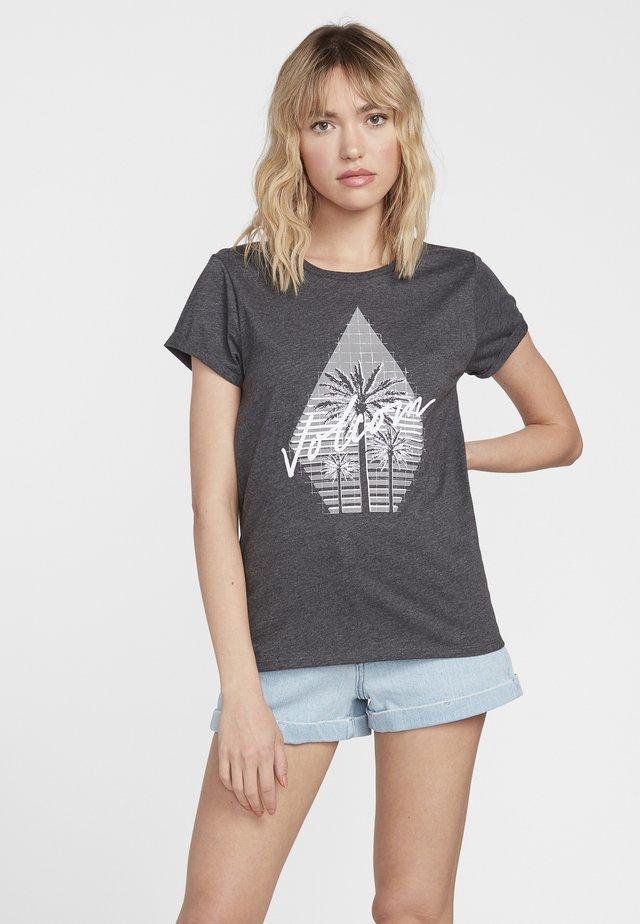 RADICAL DAZE TEE - T-shirt imprimé - grey