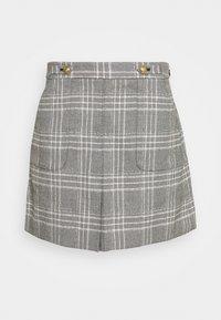 Banana Republic - FRONT PLEAT - A-line skirt - dark grey - 0