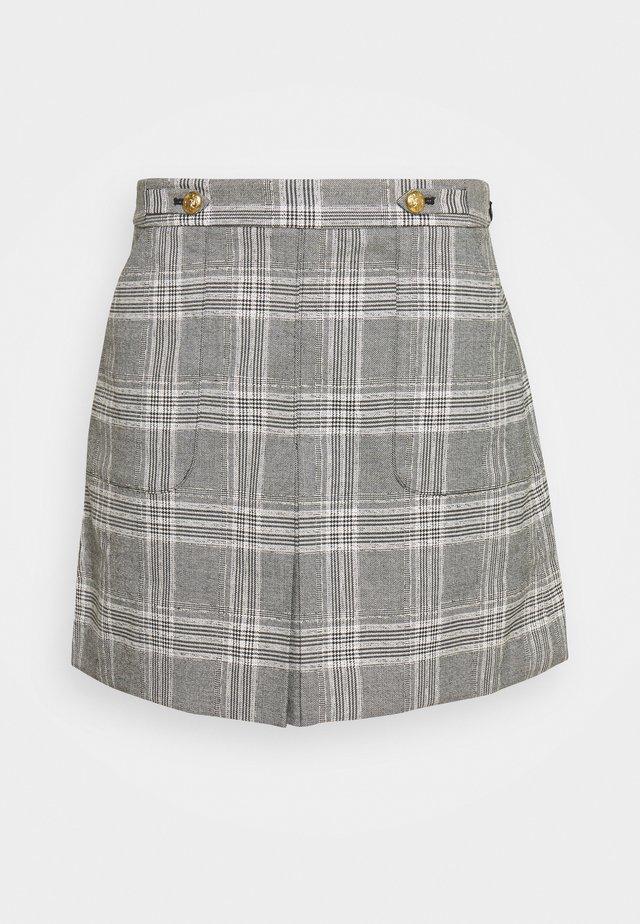 FRONT PLEAT - Áčková sukně - dark grey