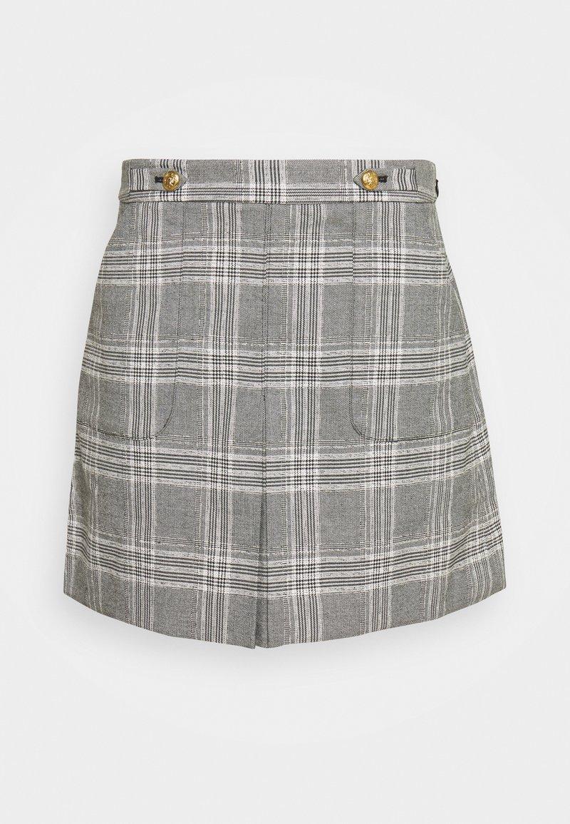Banana Republic - FRONT PLEAT - A-line skirt - dark grey